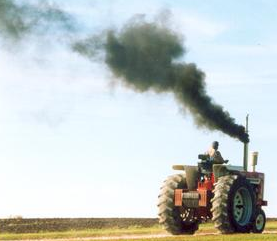 Black smoke in diesel exhaust