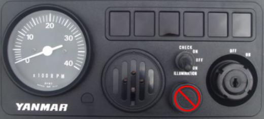 Engine start panel - don't start just yet!